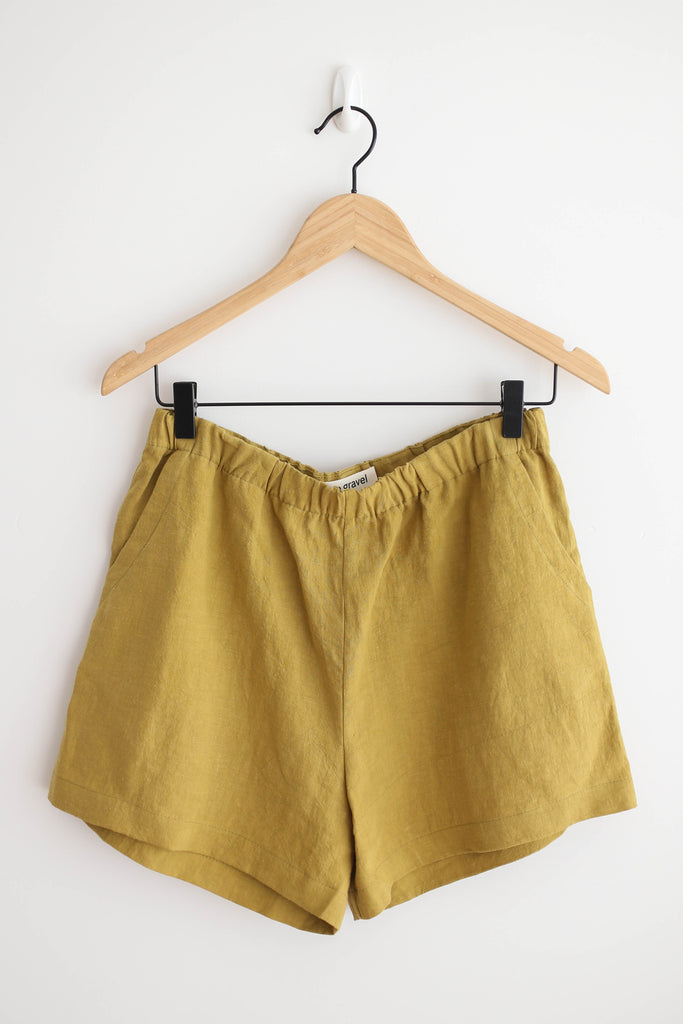 Eve Gravel By the Sea Shorts - Olive