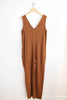 Eve Gravel Owl Moon Jumpsuit - Copper