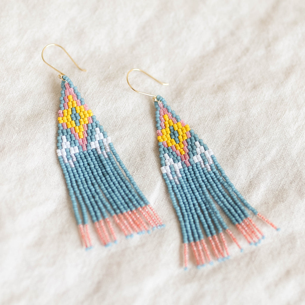 Bluma Project Ojai Earring - Denim