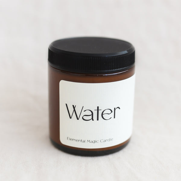Water Elemental Magic Candle