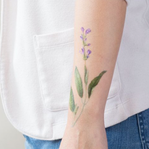 Sage Scented Tattoo