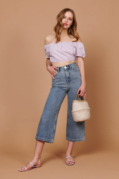 Flora Pant - Light Denim