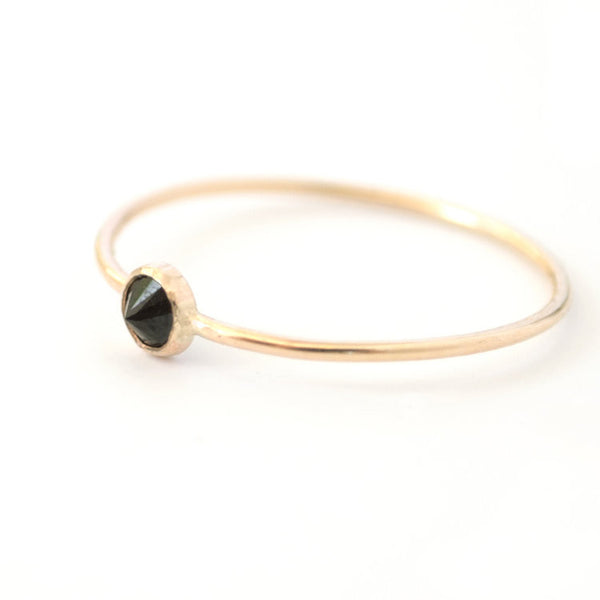 Spike Ring - Black