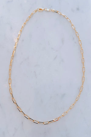 On Repeat Small Chain Necklace