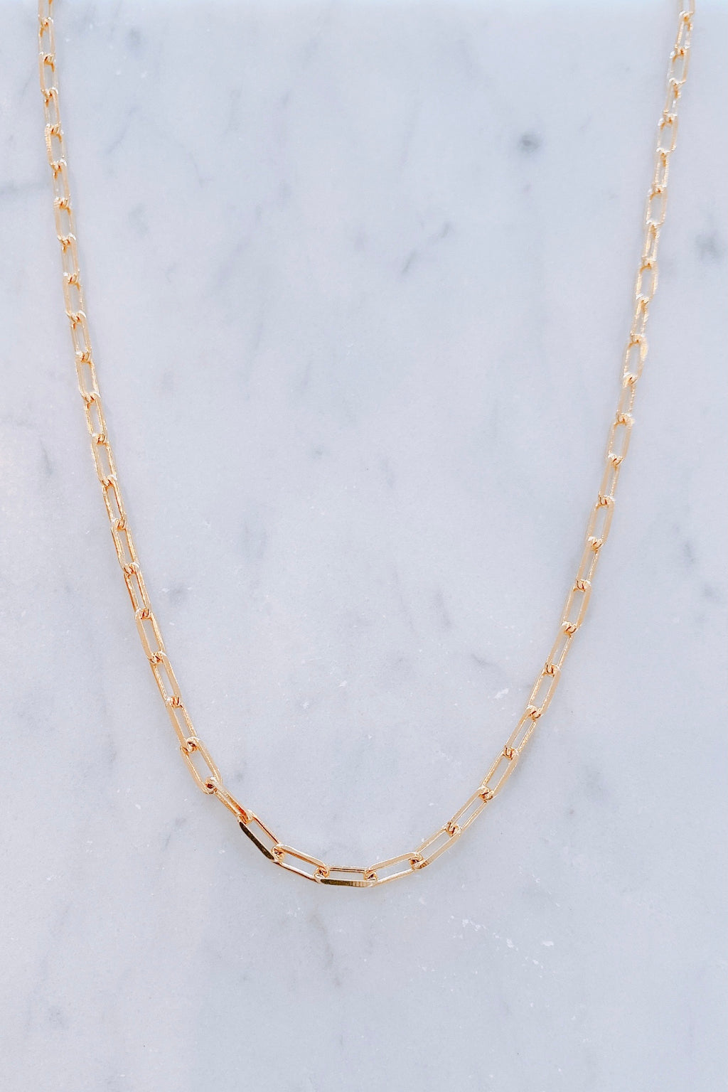 "On Repeat 20"" Chain Necklace"
