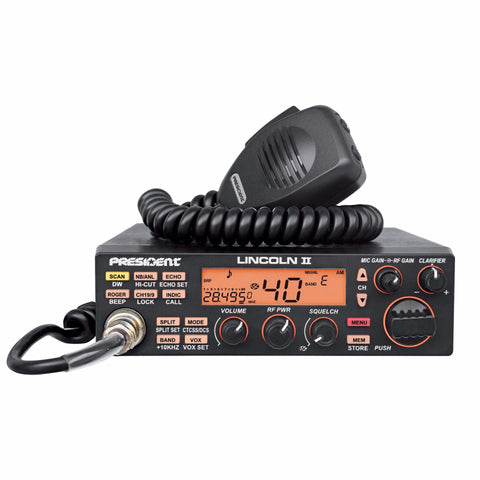 President Lincoln II Amateur Radio/Price reduced (DISCONTINUED)