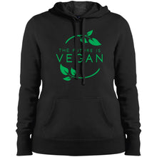 "Load image into Gallery viewer, ""The Future Is Vegan"" Women's Hoodie"