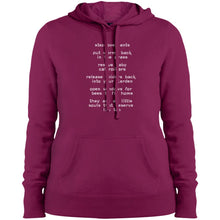 "Load image into Gallery viewer, ""Step Over Ants""  Women's Hoodie"