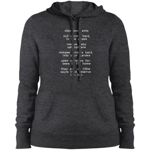 """Step Over Ants""  Women's Hoodie"