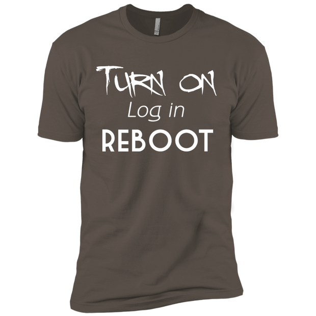 Turn On, Log In, Reboot