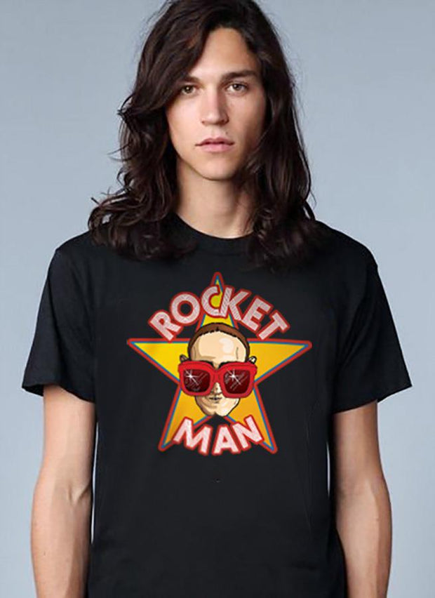 Rocketman T-Shirt (Black)