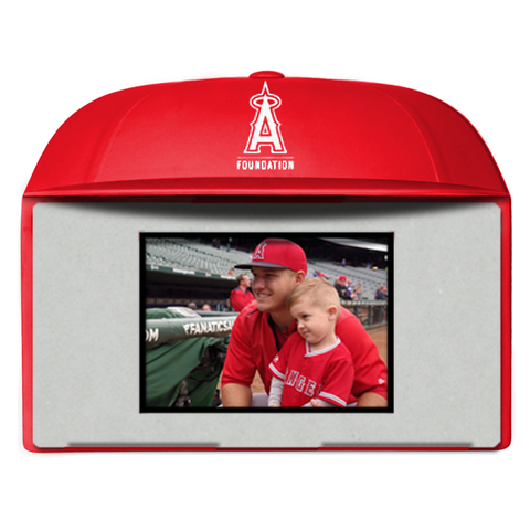 Angels Baseball Foundation - 3D license plate frame