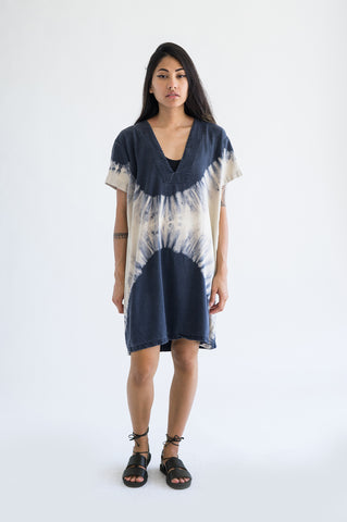 Vibrations Tunic Dress - Eclipse Dye