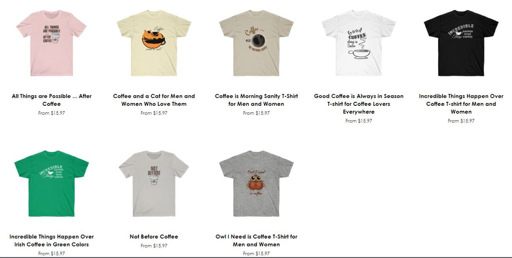 Happy National Coffee Day from Neateeshirts