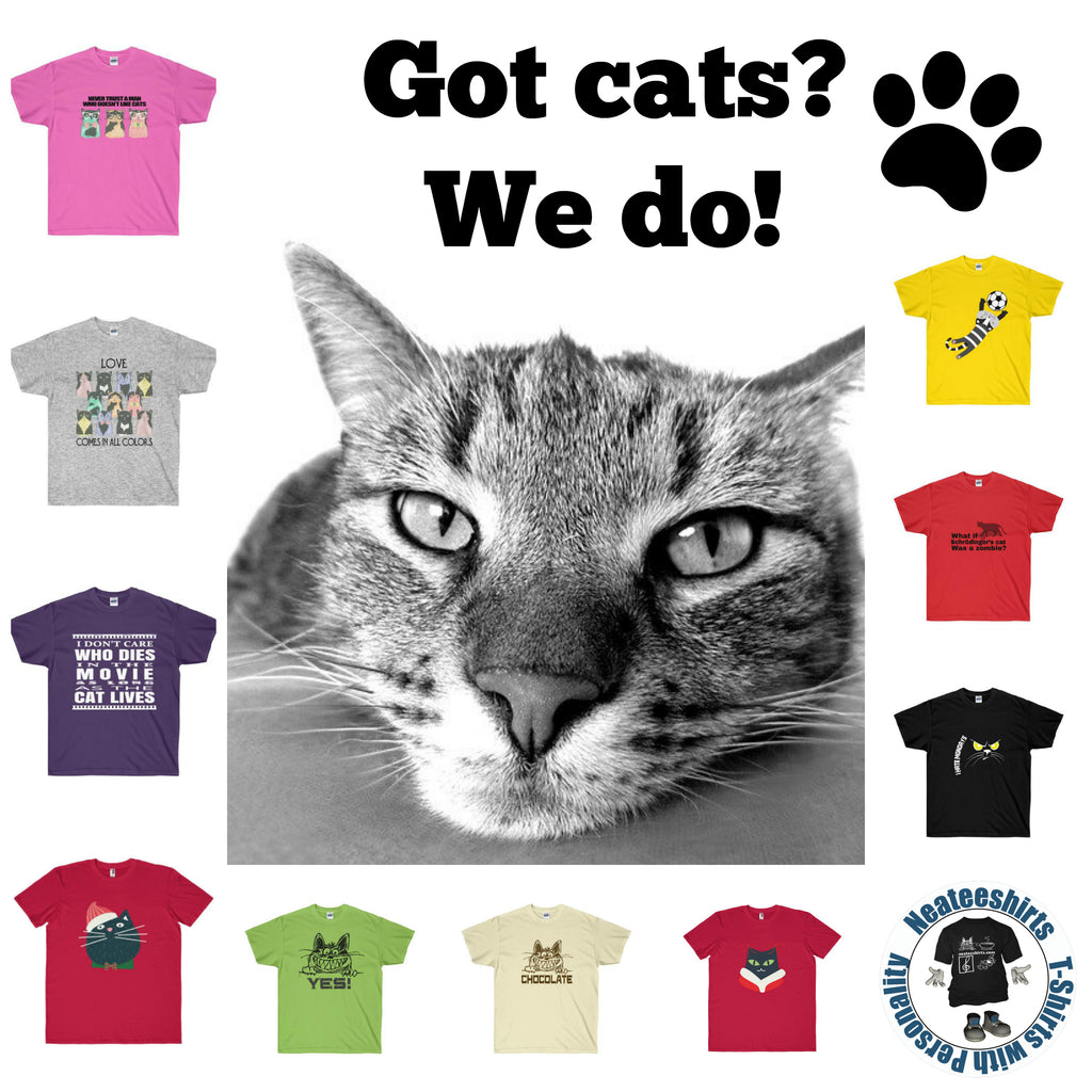 Got Cats? We sure do!