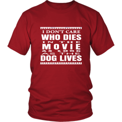 Dog Lives Movie T-shirt