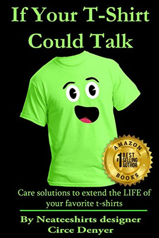 Amazon Best Selling Book on T-shirt care