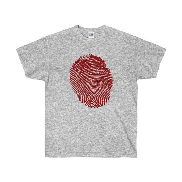 Halloween Thumbprint in Red for Men and Women - neateeshirts