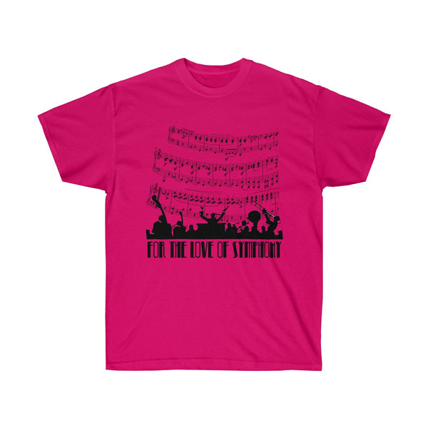 [custom_t-shirts] - [custom-t-shirt] - For The Love of Symphony Music Lover's T-shirt neatees