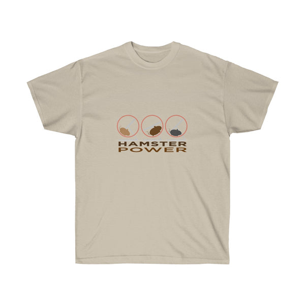 [custom_t-shirts] - [custom-t-shirt] - Hamster Power Times Three - Little Pets T-Shirt for Men and Women neatees