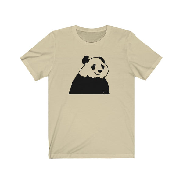 [custom_t-shirts] - [custom-t-shirt] - Chinese Giant Panda Line Drawing Unisex Jersey Short Sleeve Tee for Men and Women neatees