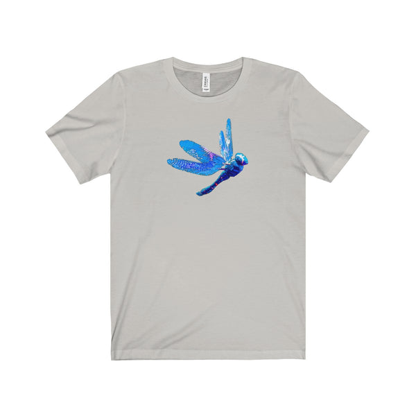 [custom_t-shirts] - [custom-t-shirt] - Magical Dragonfly Soft Cotton T-shirt in Unisex design neatees