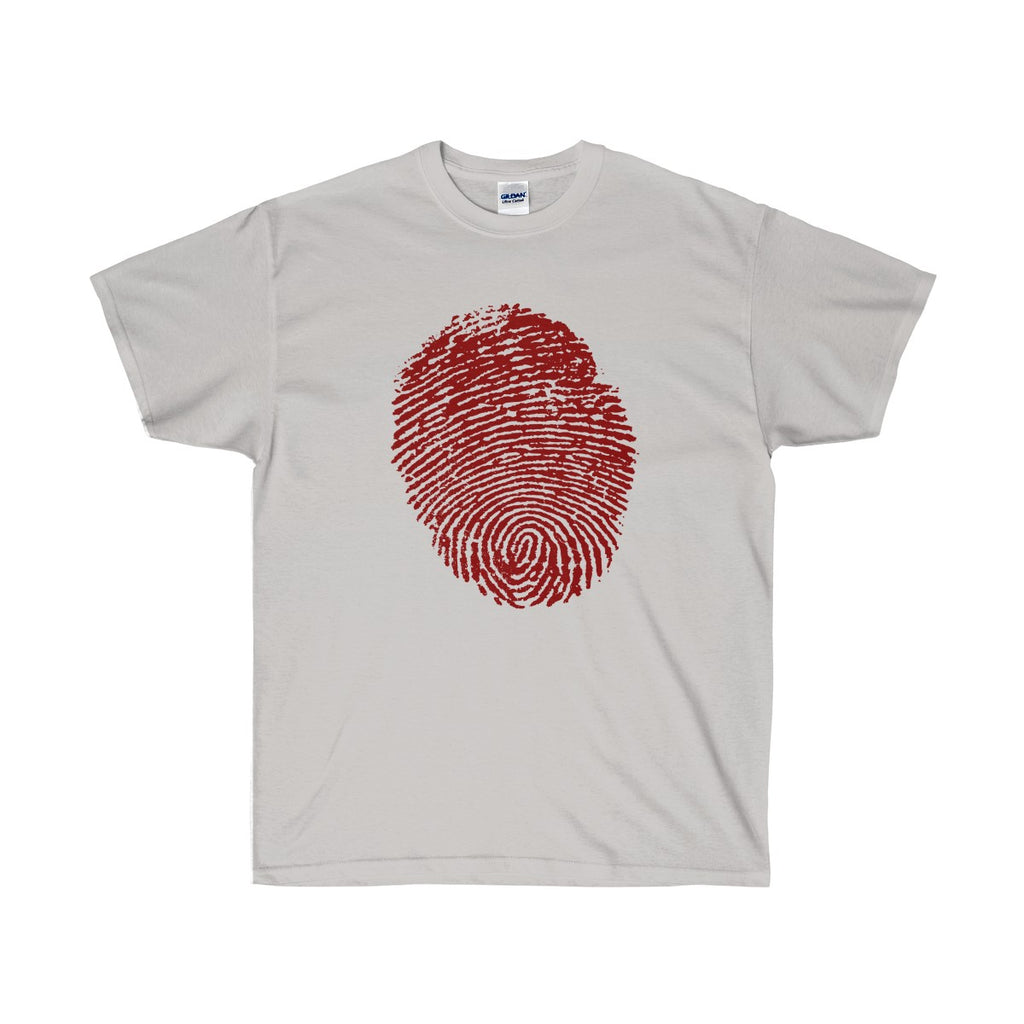 [custom_t-shirts] - [custom-t-shirt] - Halloween Thumbprint in Red for Men and Women neatees
