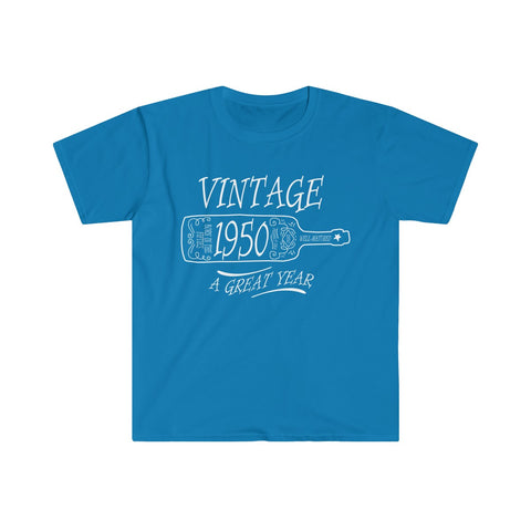 [custom_t-shirts] - [custom-t-shirt] - Vintage 1950 - A Great Year T-shirt (Euro Fit) neatees