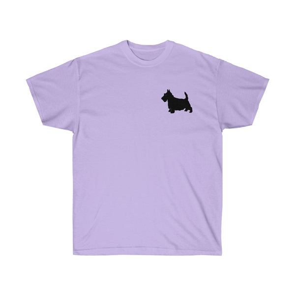 [custom_t-shirts] - [custom-t-shirt] - My Heart Belongs to a Scottie Dog T-Shirt for Men and Women neatees