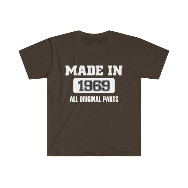 [custom_t-shirts] - [custom-t-shirt] - Made in 1969 - All original parts T-Shirt (Euro Fit) neatees