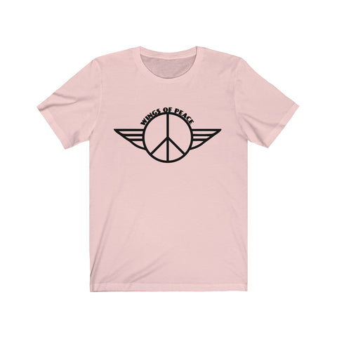 [custom_t-shirts] - [custom-t-shirt] - Wings of Peace Unisex Jersey Short Sleeve Tee neatees