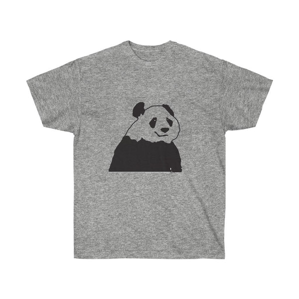 Panda Bear T-Shirt Black and White Design - neateeshirts
