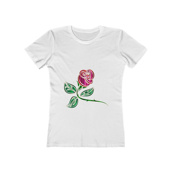 A Rose is a Rose T-shirt designed just for women