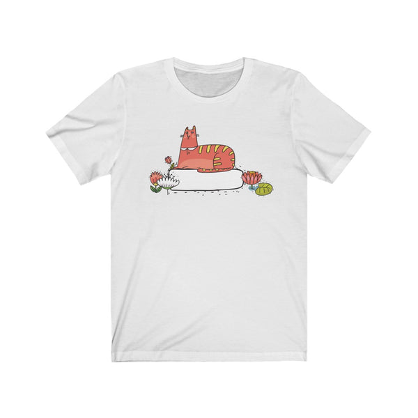 [custom_t-shirts] - [custom-t-shirt] - Cute Autumn Ginger Kitty t-shirt for Men and Women neatees