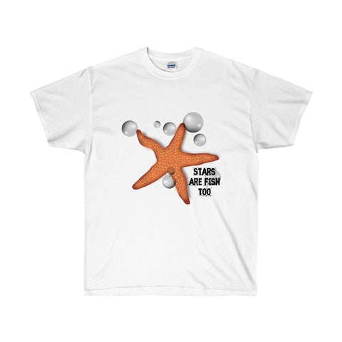 [custom_t-shirts] - [custom-t-shirt] - Starfish and Bubbles for Men and Women Tidepool Admirers T-shirt neatees