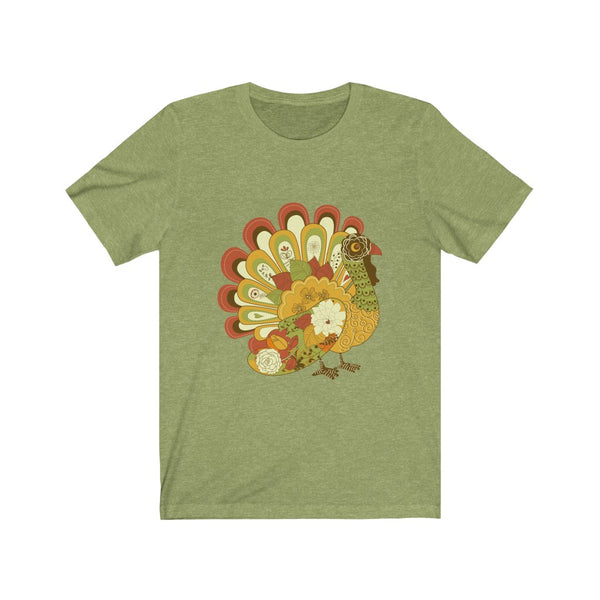[custom_t-shirts] - [custom-t-shirt] - Decorative Turkey Thanksgiving T-shirt for Men and Women neatees