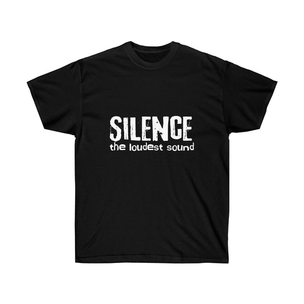 [custom_t-shirts] - [custom-t-shirt] - Silence is the Loudest Sound Inspired by Hearing Impaired Men and Women neatees