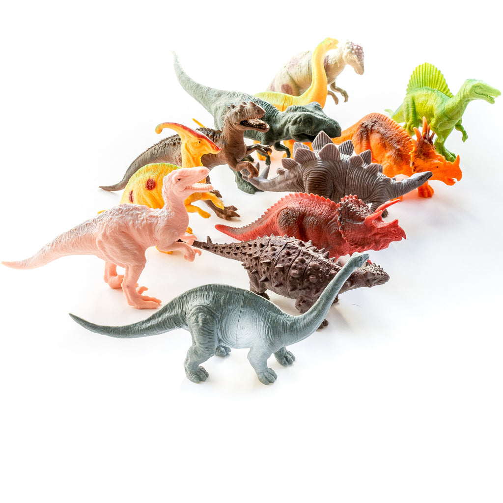 12 Set Dinosaur Learning Resources Toy Figures for Toddlers, Boys & Girls