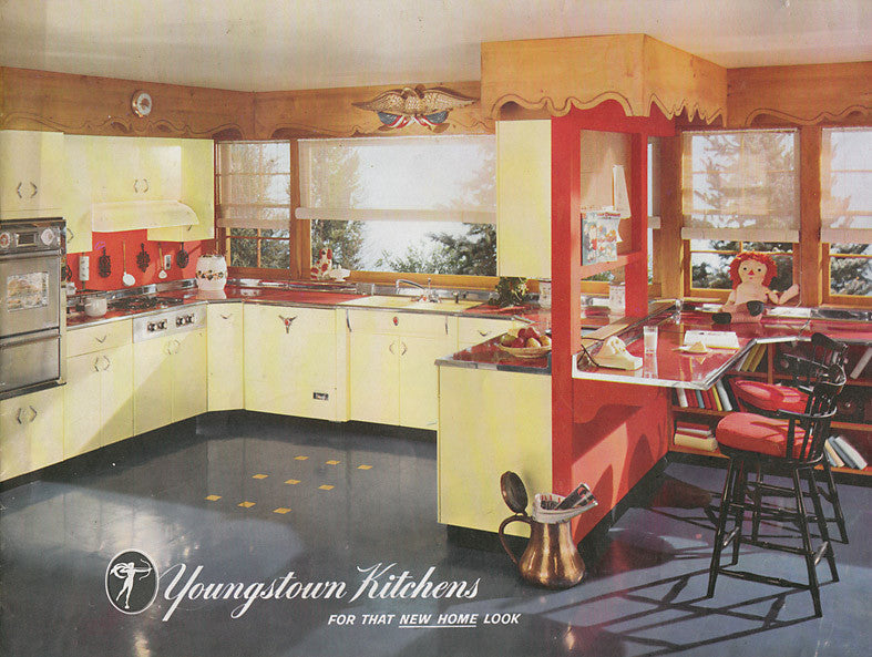 Vintage Metal Cabinetry A Youngstown Story From Refind Kitchens