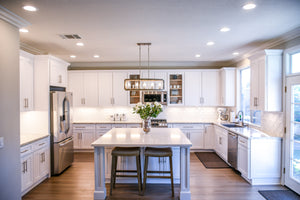 Luxury White Shaker Kitchen