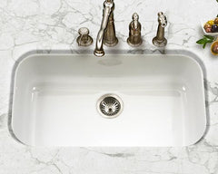 Enameled Stainless Steel Sink