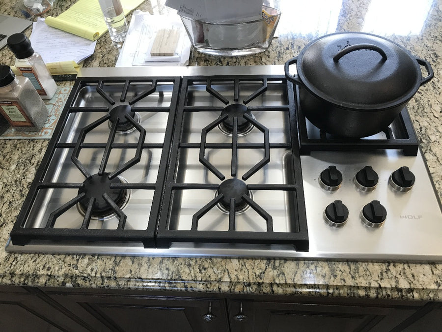 "Wolf 36"" Professional Gas Cooktop"