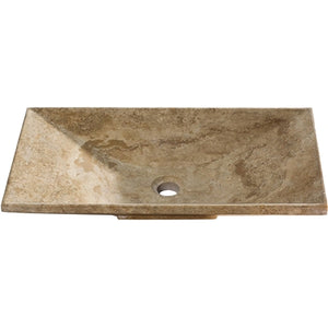 Lyon Travertine Bathroom Sink