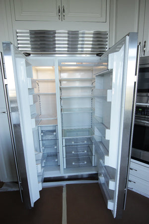 "Sub-Zero 42"" Side-By-Side Refrigerator"