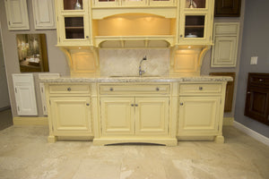 Heritage Yellow Sink Sideboard