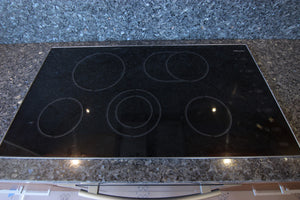 "Miele 36"" Ceran Glass Electric Cooktop"