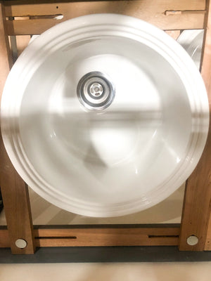 "Self-Rimmed 20"" Acrylic Sink"