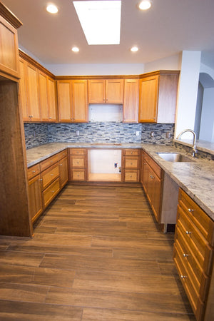 Natural Cherry Shaker Cabinetry Refind Kitchens