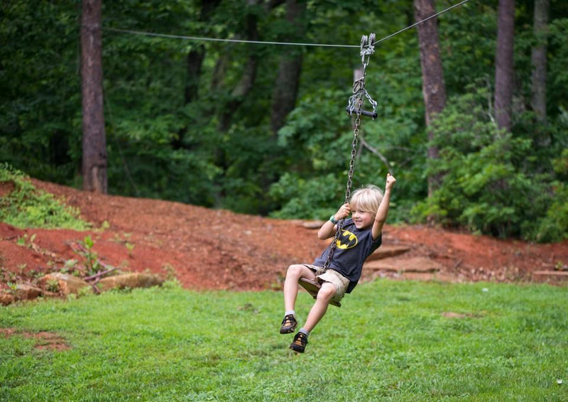 Zip Line Seat or Harness?