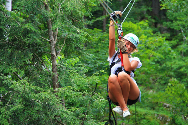 5 Reasons Your Health Can Benefit from a Backyard Zip Line!
